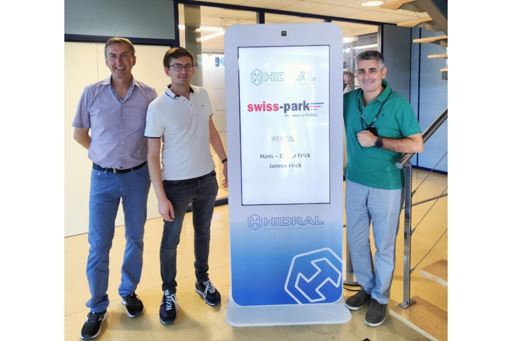 Swiss-Park visite Hidral