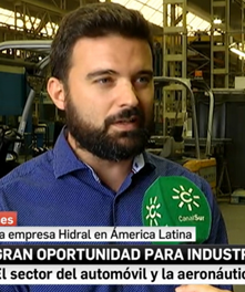 Hidral at Canal Sur News